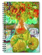 Still Life Flower Spiral Notebook
