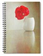 Still Life Geranium Spiral Notebook