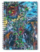 Abstract Still Life Spiral Notebook