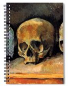 Still Life, Three Skulls Spiral Notebook