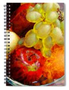 Still Life Tiles Spiral Notebook