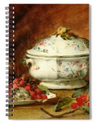 Still Life With A Soup Tureen Spiral Notebook