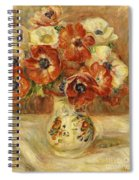 Still Life With Anemones  Spiral Notebook