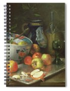 Still Life With Apples Spiral Notebook