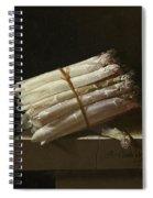 Still Life With Asparagus Spiral Notebook
