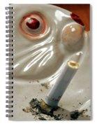 Still Life With Butt Spiral Notebook
