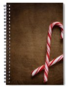 Still Life With Candy Canes Spiral Notebook