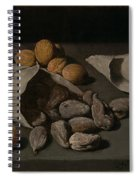 Still Life With Dried Fruit Spiral Notebook