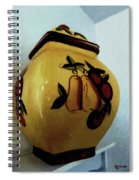 Still Life With Fruited Pottery Spiral Notebook