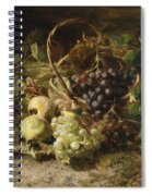 Still-life With Grapes And Pears Spiral Notebook
