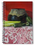 Still Life With Green Peppers Spiral Notebook