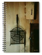 Still Life With Hearth Tools Spiral Notebook