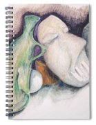 Still Life With Mask Spiral Notebook