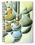Still Life With Oil Lamp  Spiral Notebook