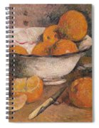 Still Life With Oranges Spiral Notebook