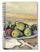 Still Life With Pears Spiral Notebook