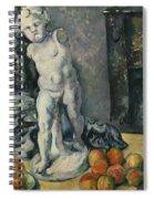 Still Life With Plaster Cupid Spiral Notebook