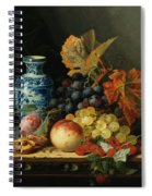 Still Life With Rasberries Spiral Notebook
