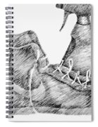 Still Life With Shoe And Spray Bottle Spiral Notebook