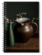 Still Life With Stoneware  Spiral Notebook