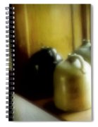 Still Life With Stoneware Spiral Notebook