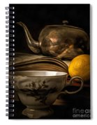 Still Life With Tea Cup Spiral Notebook