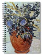 Still Life With Thistles Spiral Notebook