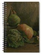 Still Life With Vegetables And Fruit Nuenen, Autumn 1884 Vincent Van Gogh 1853  1890 Spiral Notebook