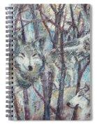 Still Of The Night Spiral Notebook