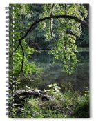 Still Water Spiral Notebook