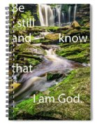 Stillness Speaks Spiral Notebook