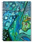 Stingrays Departing Spiral Notebook
