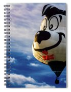 Stinky The Skunk Spiral Notebook