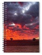 Stirling Ranges Sunrise Spiral Notebook