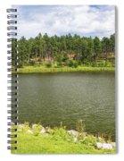 Stockade Lake In Custer State Park Spiral Notebook