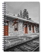 Stockbridge Train Station Spiral Notebook