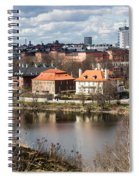 Stockholm From Skansen Spiral Notebook