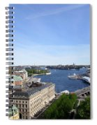 Stockholm In My Heart Spiral Notebook