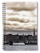 Stockholm Spiral Notebook