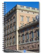 Stockholm Royal Palace  Spiral Notebook