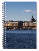 Stockholm Waterscape Spiral Notebook
