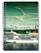 Stockholm X Spiral Notebook