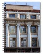 Stockton City Hall Spiral Notebook