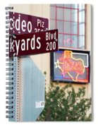 Stockyards Fort Worth 6815 Spiral Notebook