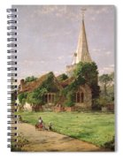 Stoke Poges Church Spiral Notebook