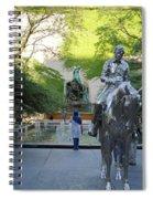 Stolen Moments Spiral Notebook