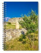 Stone Artefacts Of Asseria Ancient Town Spiral Notebook