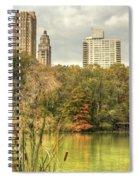 stone bridge in Central Park Spiral Notebook