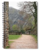 Stone Building Wall And Fence Spiral Notebook