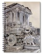 Stone Chariot Spiral Notebook
